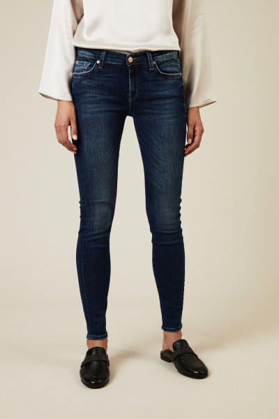 Jeans 'The Skinny Slim Illusion Lovesong' Mittelblau