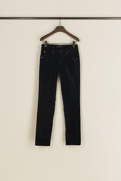 Samt-Jeans 'Pina' Blau