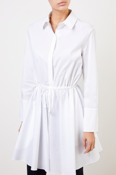 Brock Collection Shirt blouse dress with cord detail White