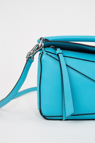 Loewe Bag 'Puzzle Bag Mini' Turquoise