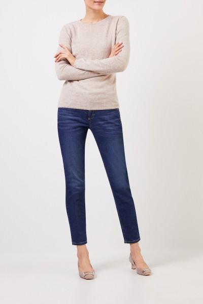Cambio Skinny-Jeans 'Pina' Blau