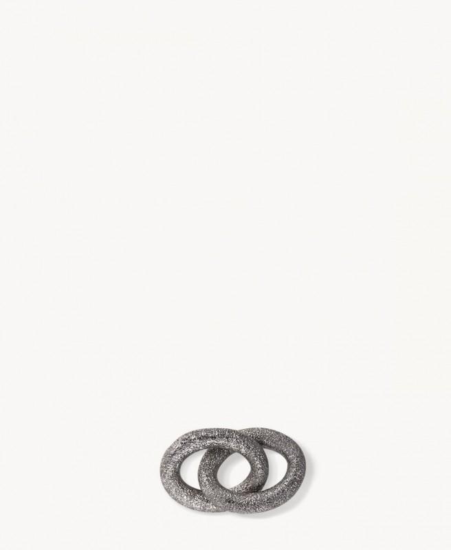 Anhänger 'Florentine Sparkle' Schwarz/18K Gold