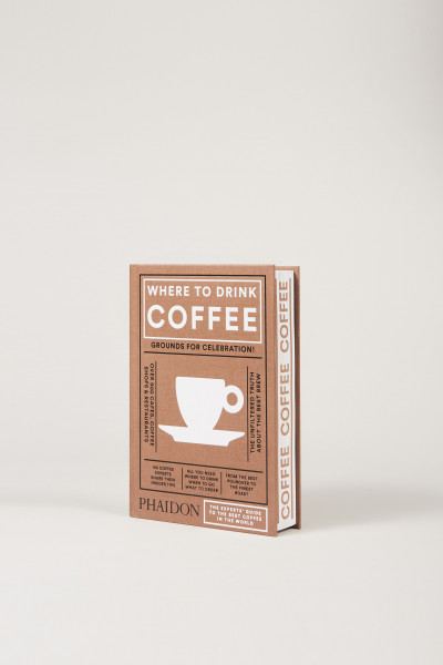 Phaidon Buch 'WHERE TO DRINK COFFEE'