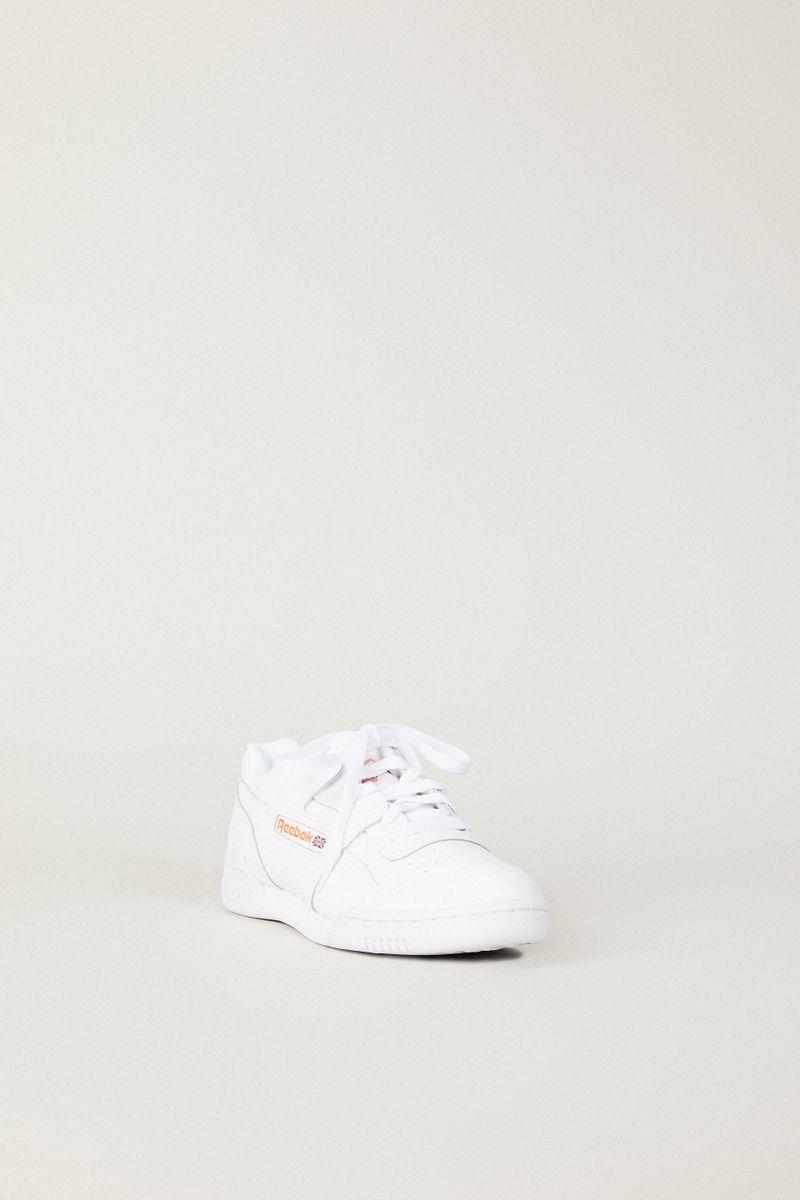 Sneaker 'Workout Plus' Weiß/Orange