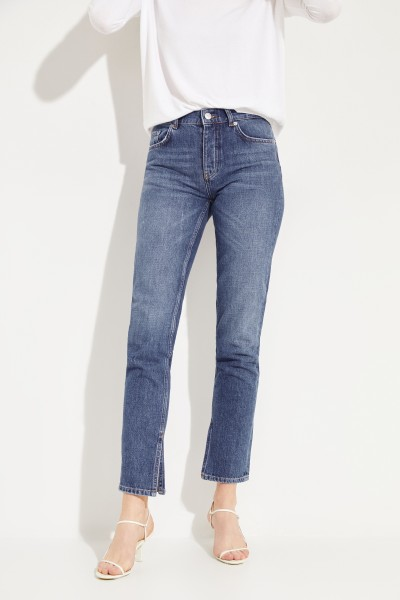Jeans 'Classic Denim' with Slots Blue