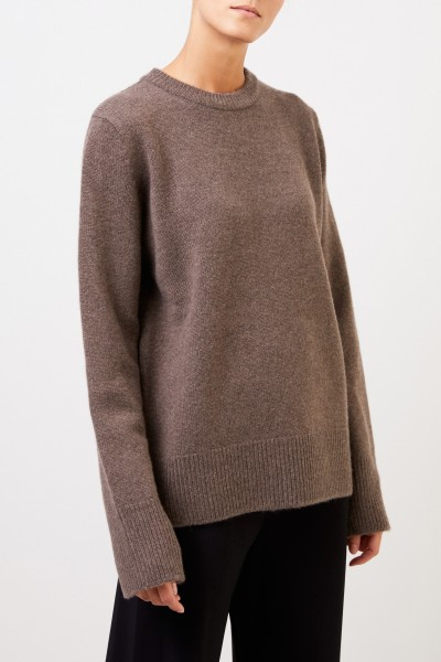 The Row Wool cashmere pullover 'Sinila' Brown