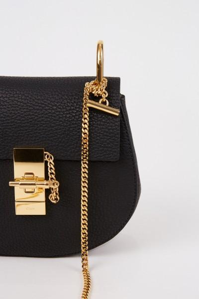 Chloé Shoulder Bag 'Drew Small' Black