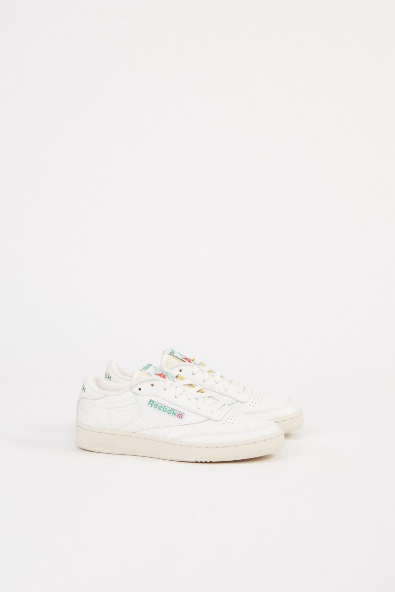Reebok Sneaker 'Club C 1985' Crème/Grün