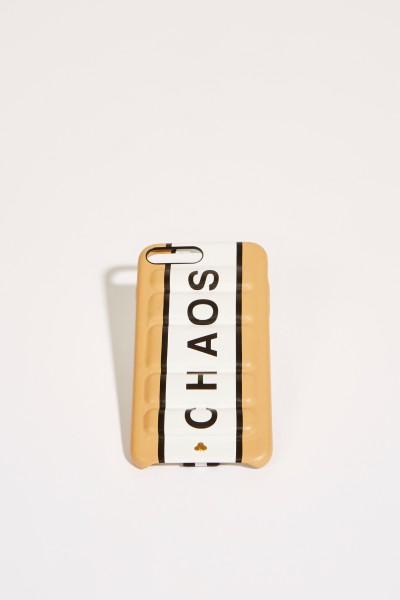 IPhone Case 7/8+ mit Logo Beige/Weiß
