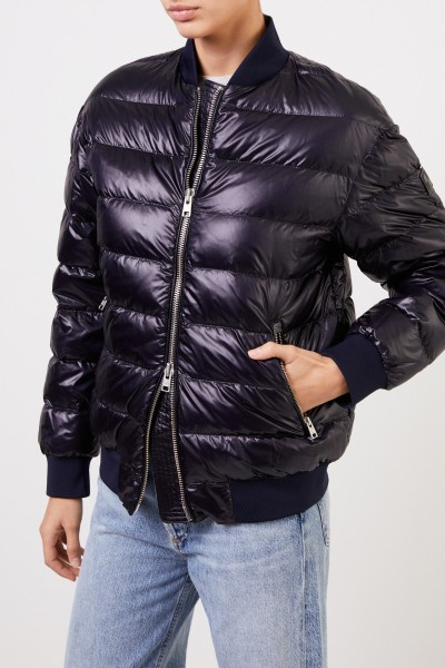 Woolrich Dow bomber jacket 'Alquippa Bomber' Navy Blue