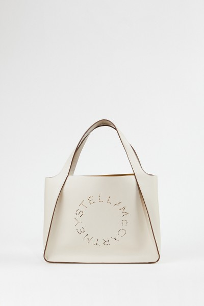 Stella McCartney Tasche 'Tote Eco Soft' Crème