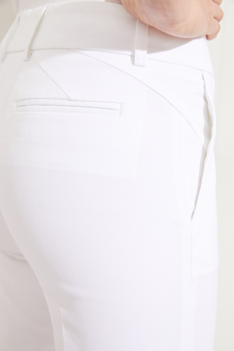Baumwoll-Hose 'Kim' Weiß