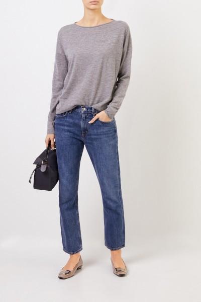 Fine cashmere sweater 'Laniv' Grey
