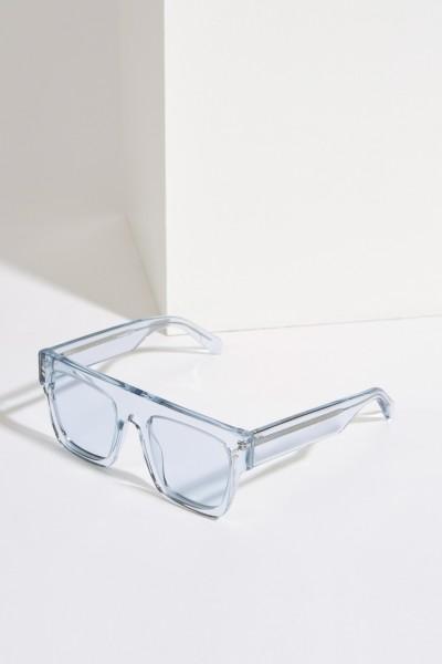 Sonnenbrille Transparent Hellblau