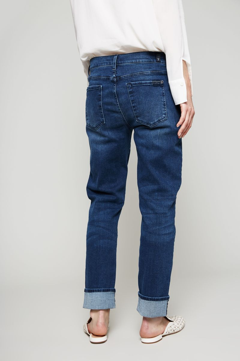 Slim Illusion Jeans Blue Depth