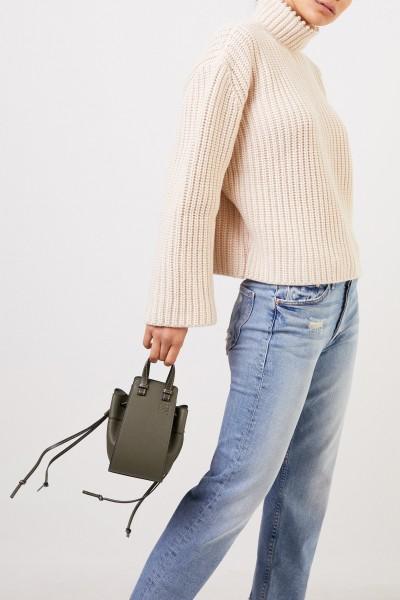 Loewe Handbag 'Mini Hammock DW' Khaki