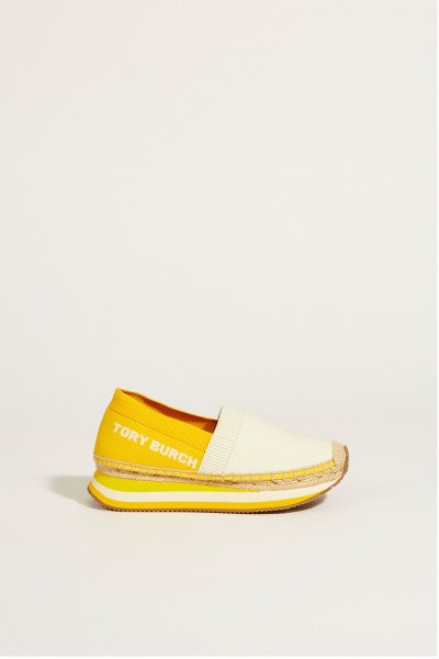 Slip-On Sneaker 'Daisy' Crème/Yellow