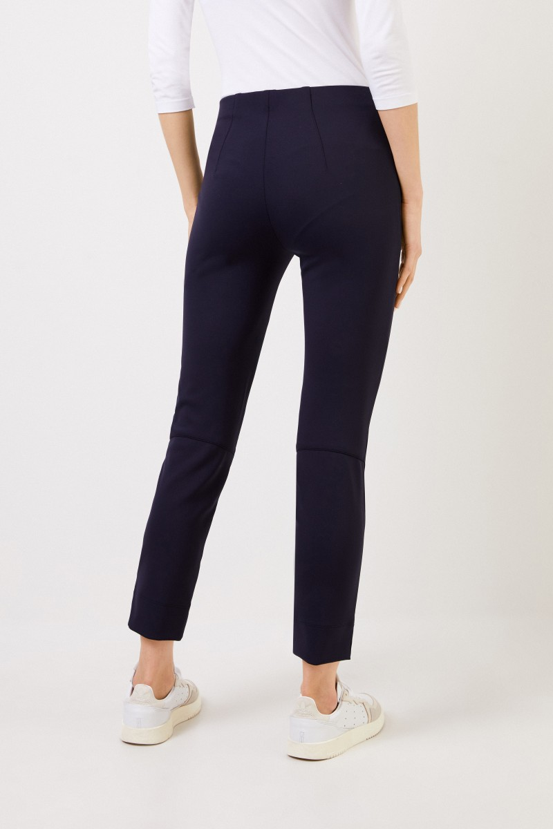 Seductive Elastische Hose 'Sabrina' Marineblau