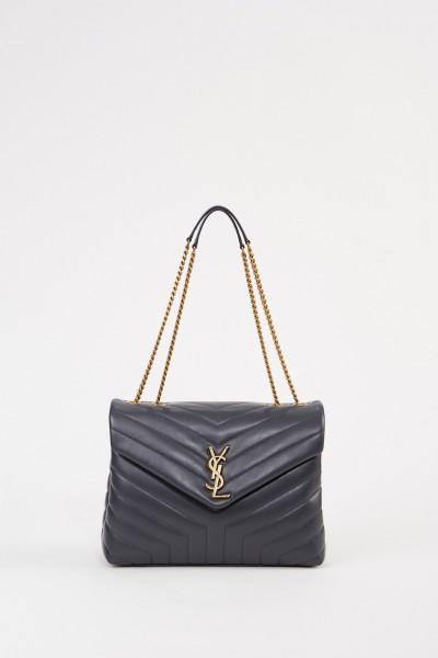 Shoulder bag 'LouLou M' Anthracite