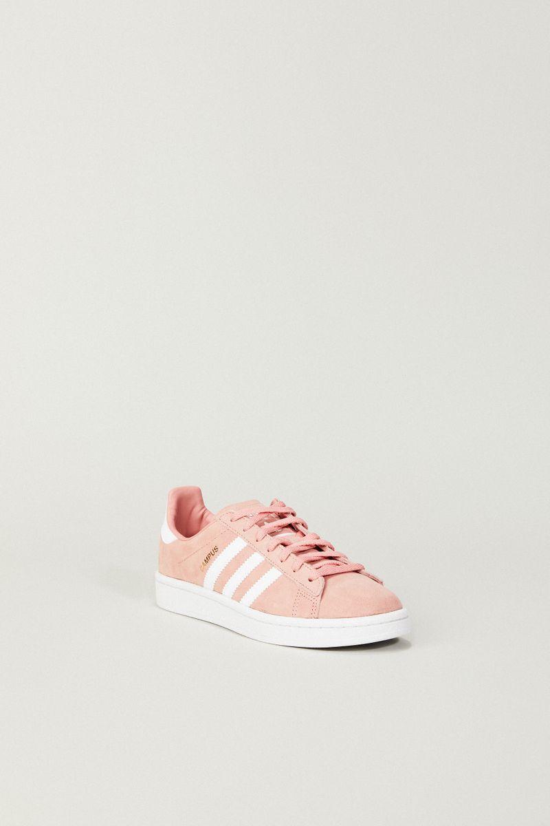 Leder Sneaker 'Campus W' Rosé