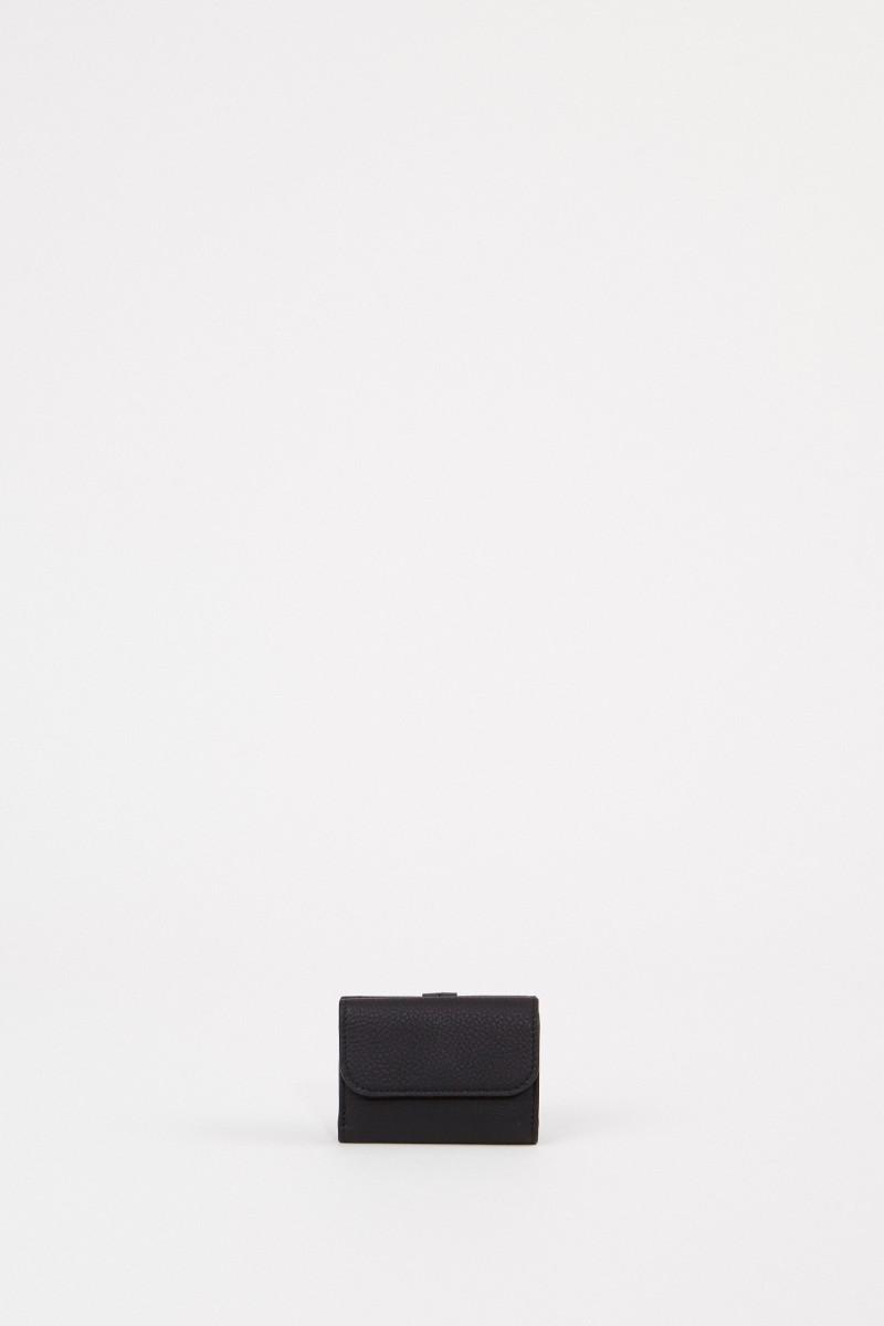 Mini-Portemonnaie 'Alphabet Coins' Schwarz