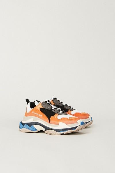 Sneaker 'Triple S' mit Leder Multi