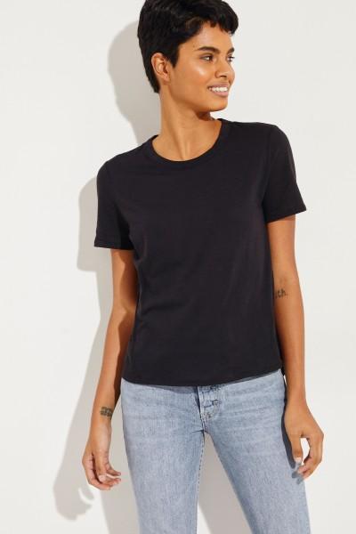 T-Shirt 'Lauren' Schwarz
