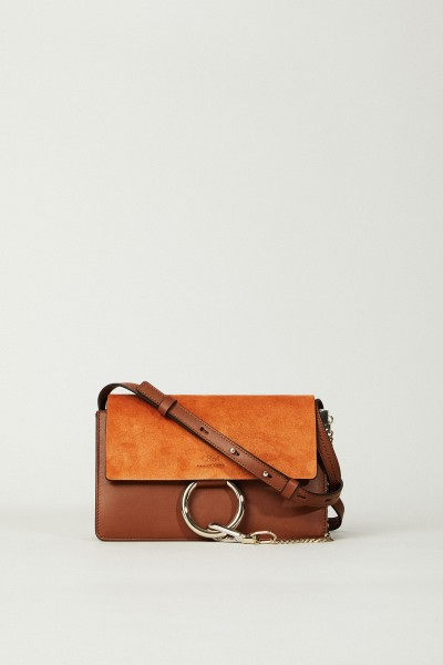 Shoulder Bag 'Faye Classic Small' Tobacco