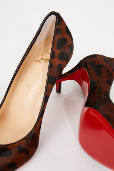 Christian Louboutin Pump 'Eloise' with leo pattern Multi