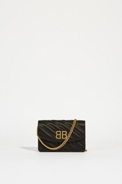 Umhängetasche 'BB Wallet' mit Logo Schwarz