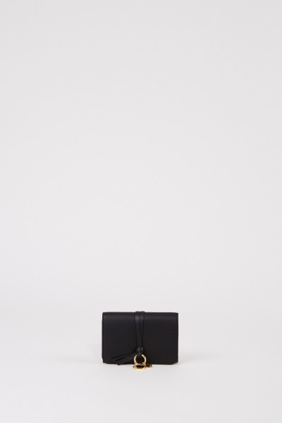 Leather wallet 'Marcie' Black