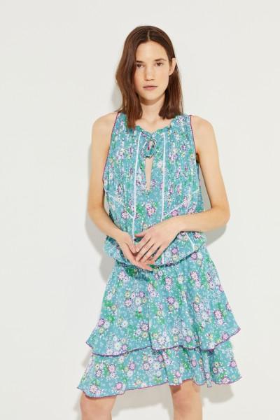 Gemustertes Kleid 'Foe' Multi