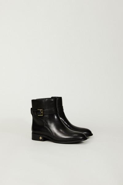 Leder-Ankle Boot 'Brooke' Schwarz