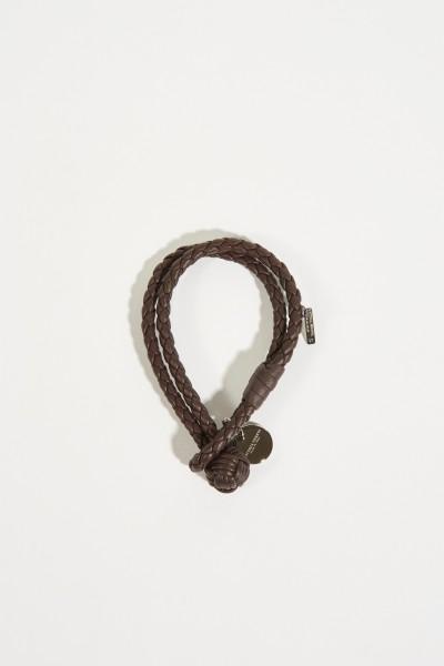 Geflochtenes Armband Braun