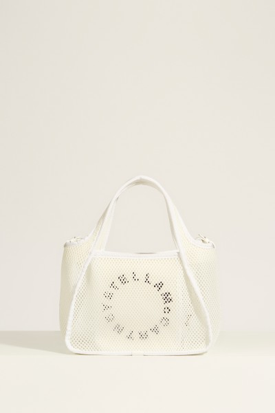 Mesh bag 'Cross Body Bag' White