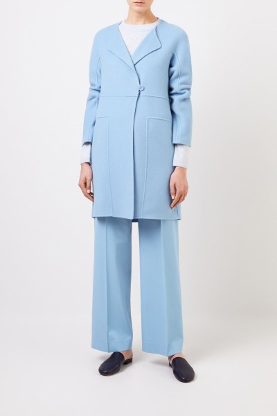 Cashmere coat 'Eartha' Taupe