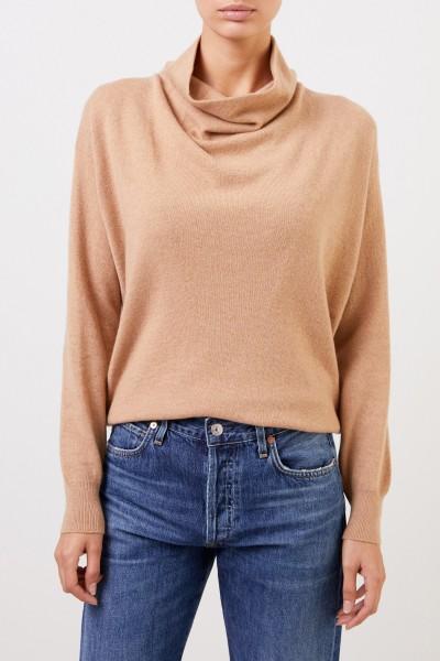 Agnona Cashmere Pullover Camel