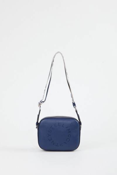 Stella McCartney Shoulder Bag 'Mini Camera Bag' Navy Blue