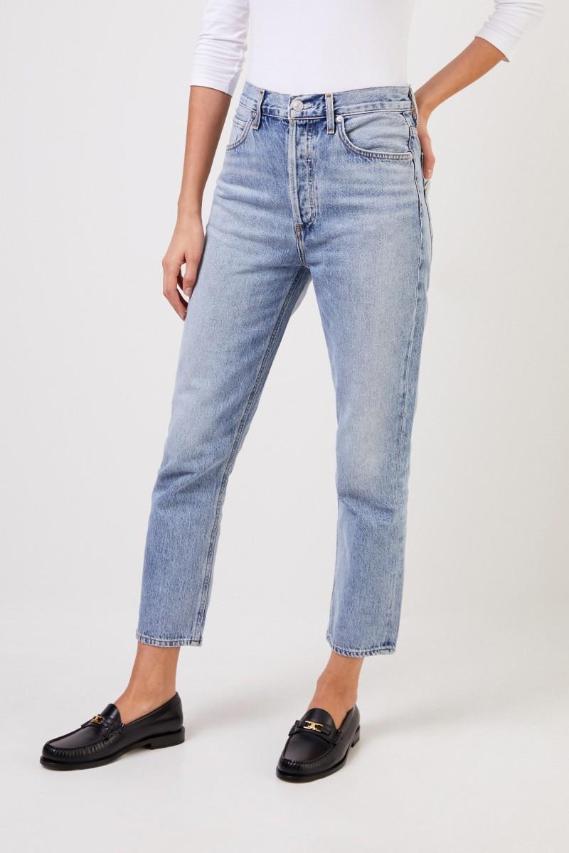 Jeans 'Riley Double-Pocket' Blau