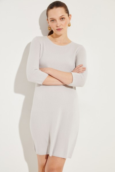 Cashmere-Kleid 'Cassandra' Grau