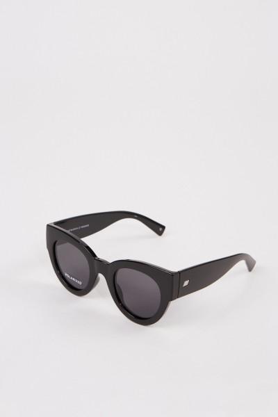 Le Specs Polarisierende Sonnenbrille 'Matriarch' Schwarz