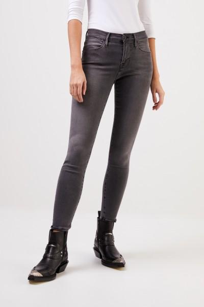 Frame Skinny-Jeans 'Le High Skinny' Grau