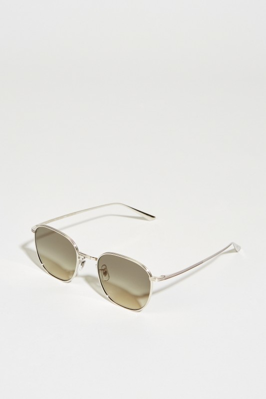 Oliver Peoples Sonnenbrille 'The Row' Silber