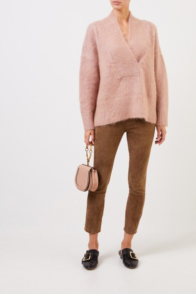Woll-Cashmere Pullover Rosé