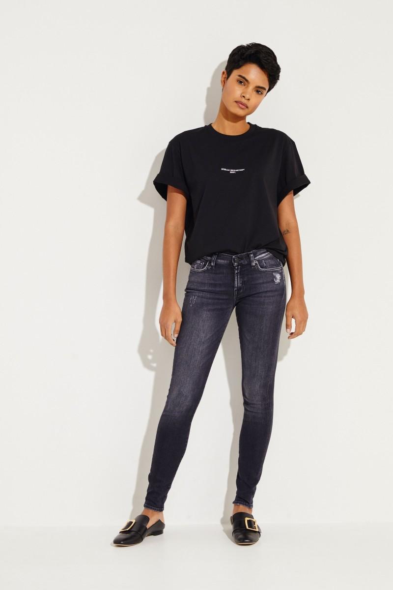 Jeans 'The Skinny Slim Illusion Grand' Anthrazit
