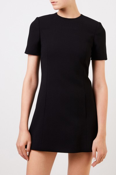 Saint Laurent Short wool dress Black