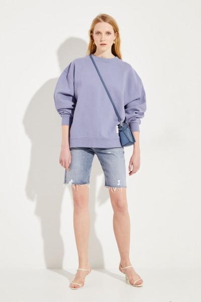 Sweatshirt 'Fyona' Blue Melange