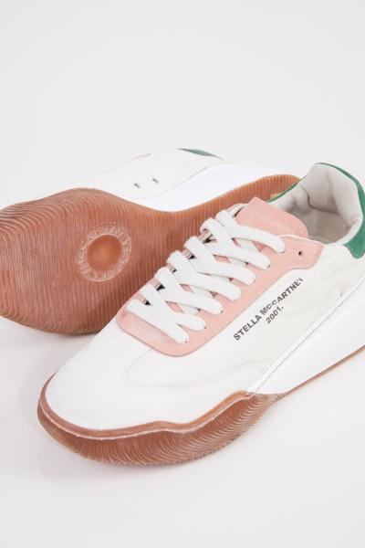 Stella McCartney Sneaker 'Fabric' Crème/Multi