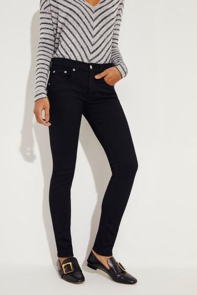 Skinny Jeans Schwarz