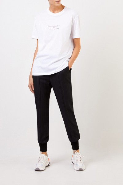 Stella McCartney T-Shirt with Print White